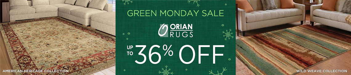 Orian Rugs - Save up to 36%!