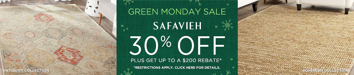 Safavieh Rugs - Save 30% + Rebate!