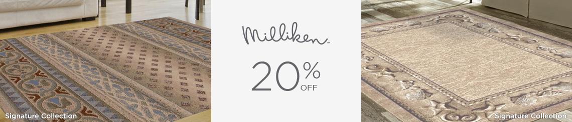 Milliken Rugs - Save 20%!