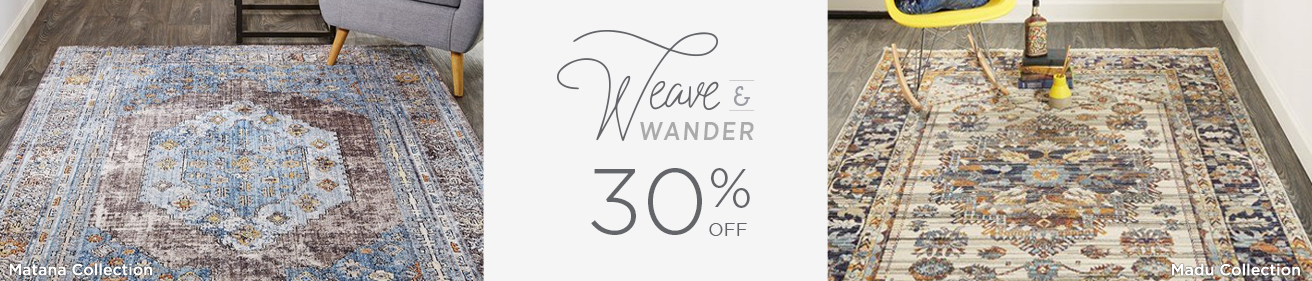 Weave and Wander - Save 30%!