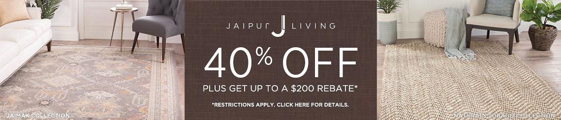 Jaipur Living Rugs - Save 40% + Rebate!