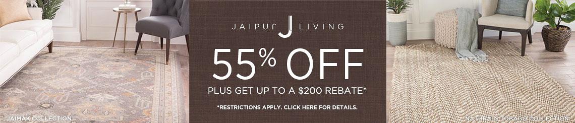 Jaipur Living Rugs - Save 55% + Rebate!