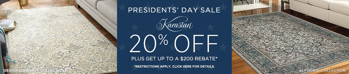Karastan Rugs - 20% + get up to $200 back!