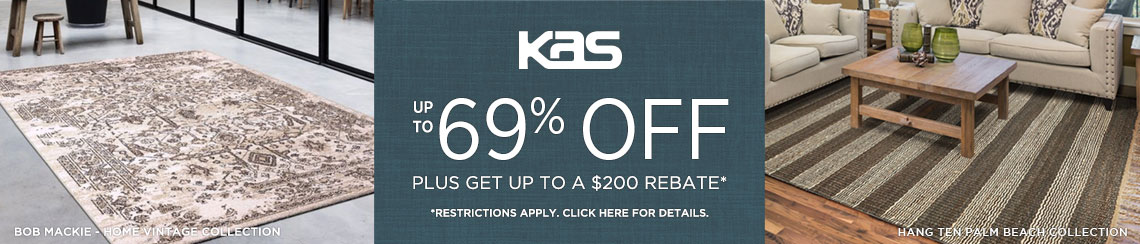 KAS Rugs - Save up to 69% + get up to $200 back.