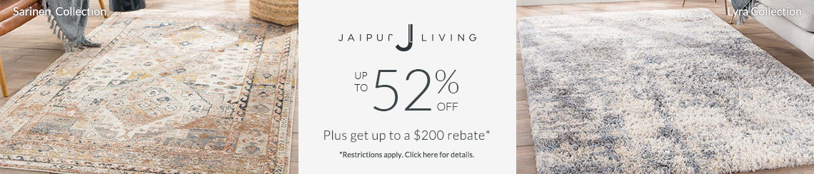 Jaipur Living Rugs - Save up to 52% + get up to $200 back!