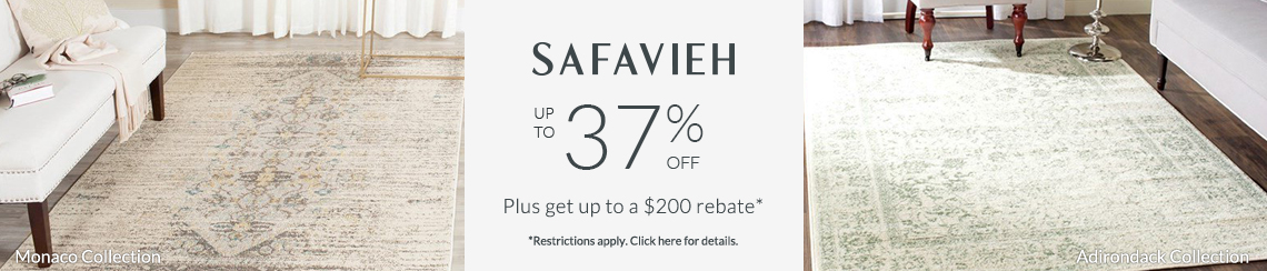 Safavieh Rugs - Save up to 37% + get up to $200 back!