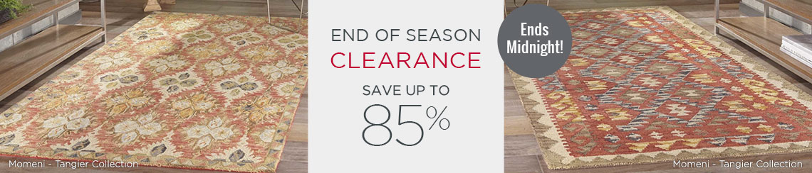 End Of Season Clearance - Save Up To 85%!