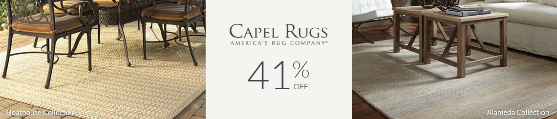 Capel Rugs - Save 41% + Rebate!