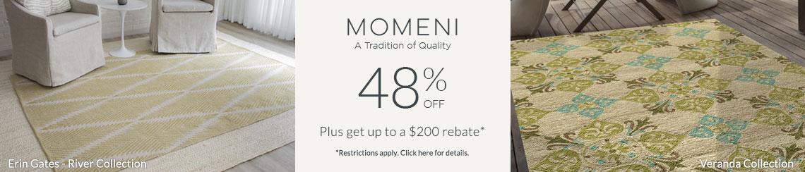 Momeni - Save 48% + get up to $200 back!