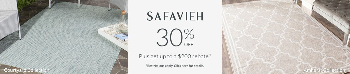 Safavieh Rugs - Save 30% + get up to $200 back!