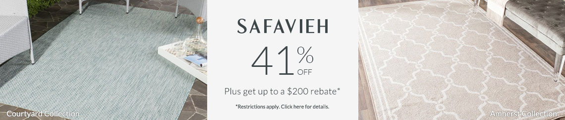 Safavieh Rugs - Save 41% + get up to $200 back!