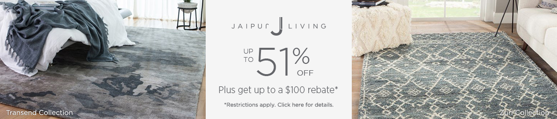Jaipur Living Rugs - Save up to 51% + get up to $100 back!