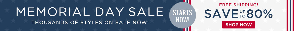 Memorial Day Sale - Save Up To 80%!