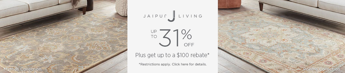 Jaipur Living Rugs - Save up to 31% + get up to $100 back!