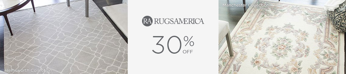 Rugs America - Save 30%!
