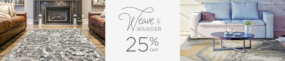 Weave and Wander - Save 25%!