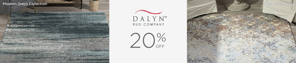 Dalyn Rugs - Save 20%!