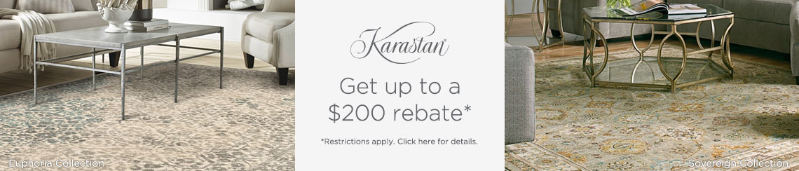 Karastan Rugs - Get up to $200 back!