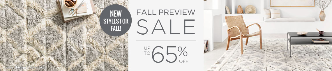Fall Preview Sale - Save Up To 65%!