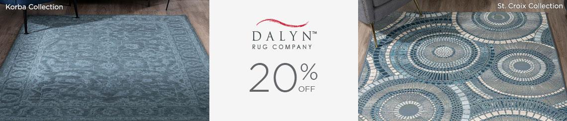 Dalyn Rugs - Save 20%!