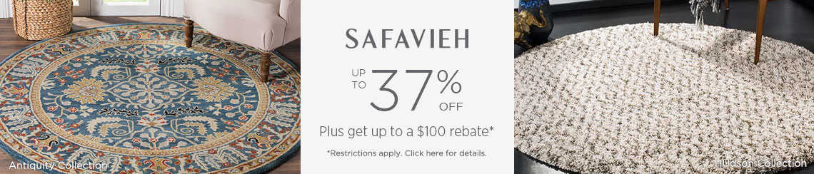 Safavieh Rugs - Save up to 37% + get up to $100 back!