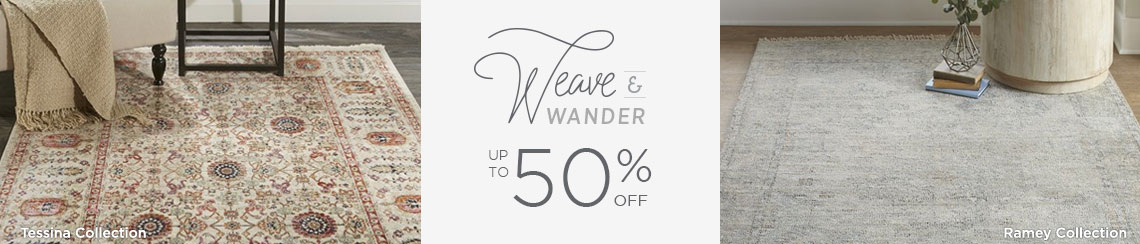 Weave and Wander - Save up to 50%!