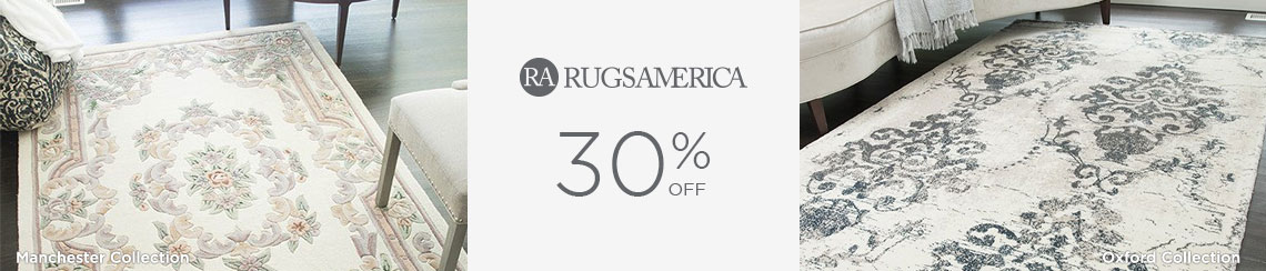 Rugs America - Save 30%!