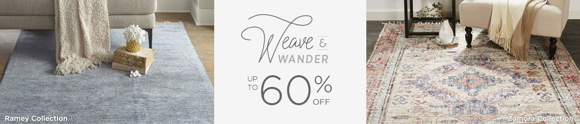 Weave and Wander - Save up to 60%!