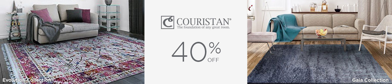Couristan Rugs - Save 40%!
