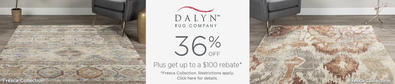 Dalyn Rugs - Save 36%!