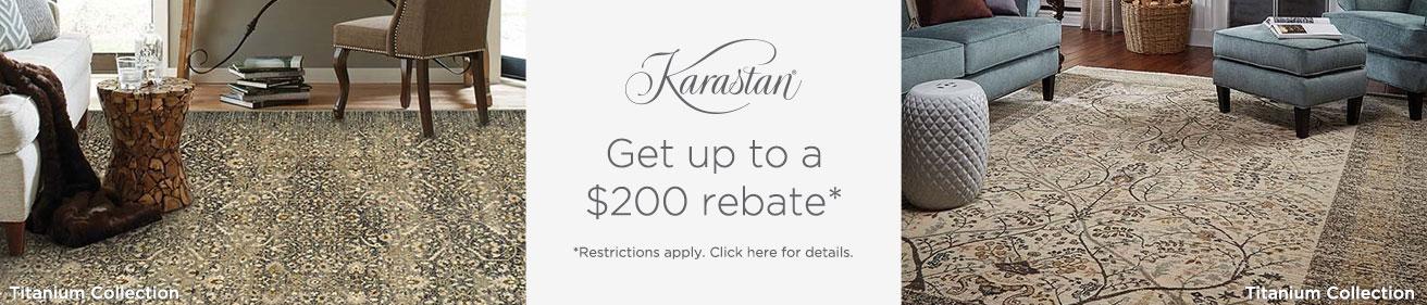 Karastan Rugs - Get up to $200 back!