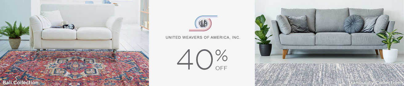 United Weavers - Save 40%!