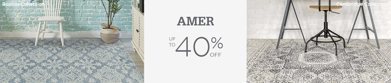 AMER Rugs - Save up to 40%!