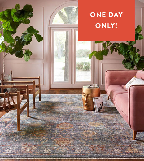 Flash Sale Friday - Save Up To 75% On Rugs!