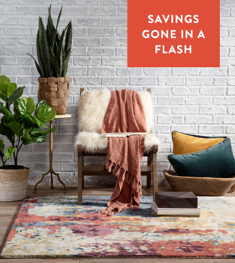 October Last Chance Flash - Save Up To 75% On Rugs!