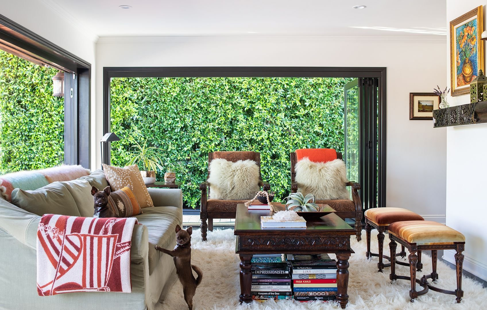 Lots of Layers - Living Room Ideas
