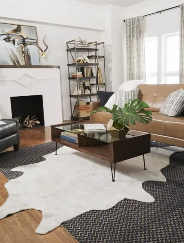 Cowhide Decorating Ideas Rugs Direct