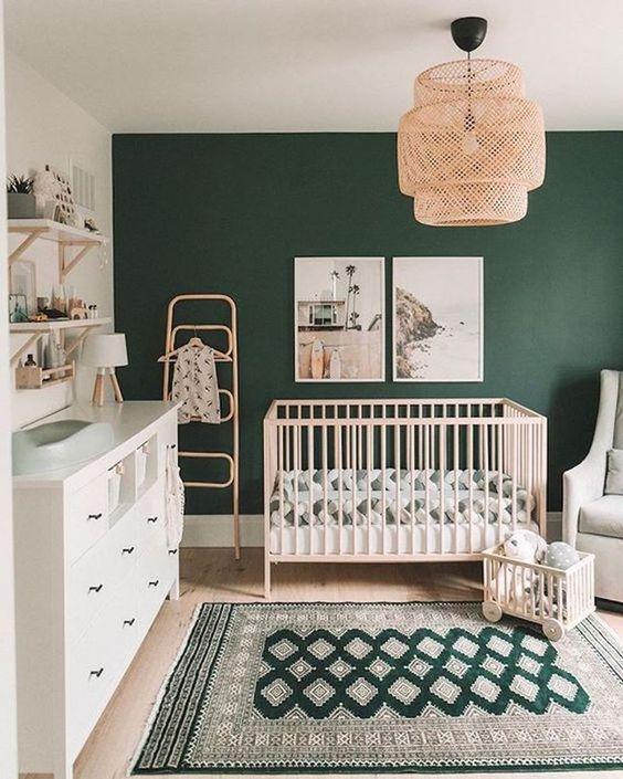 Green Nursery Rug Ideas