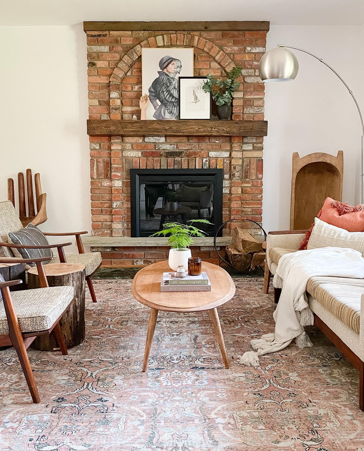 Fireside Comfort Cozy Living Room Decor Ideas