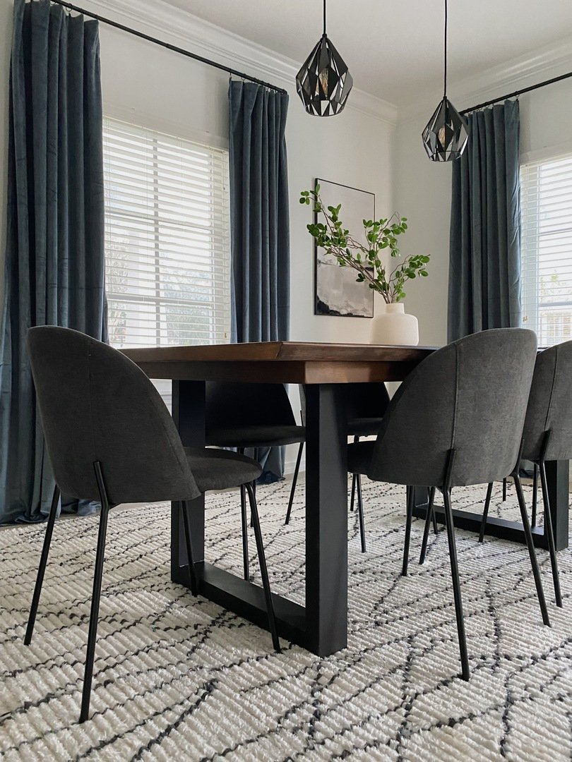Geometric Vibes Dining Room Decor Ideas