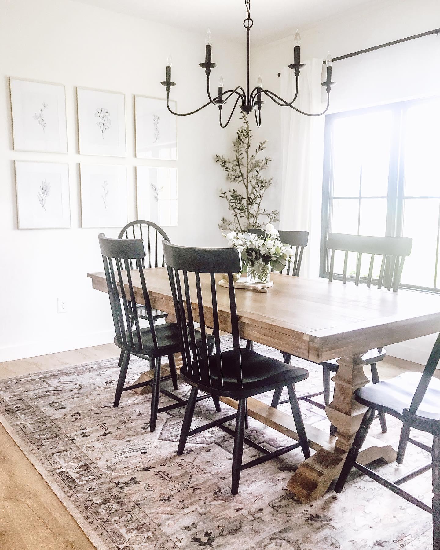 Rustic Charm Dining Room Decor Ideas