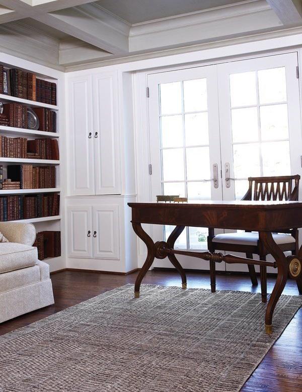 Library Style Office Decor Ideas