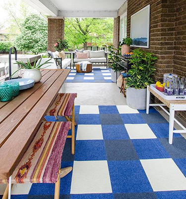 Large Outdoor Patio Decorating Ideas