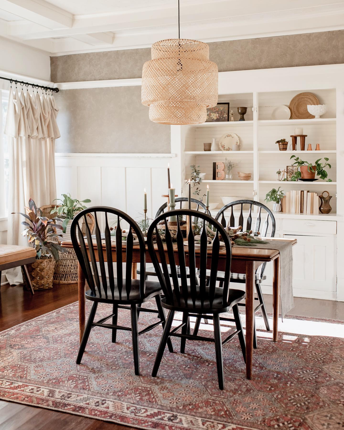 Modern Country Dining Room Decor Ideas