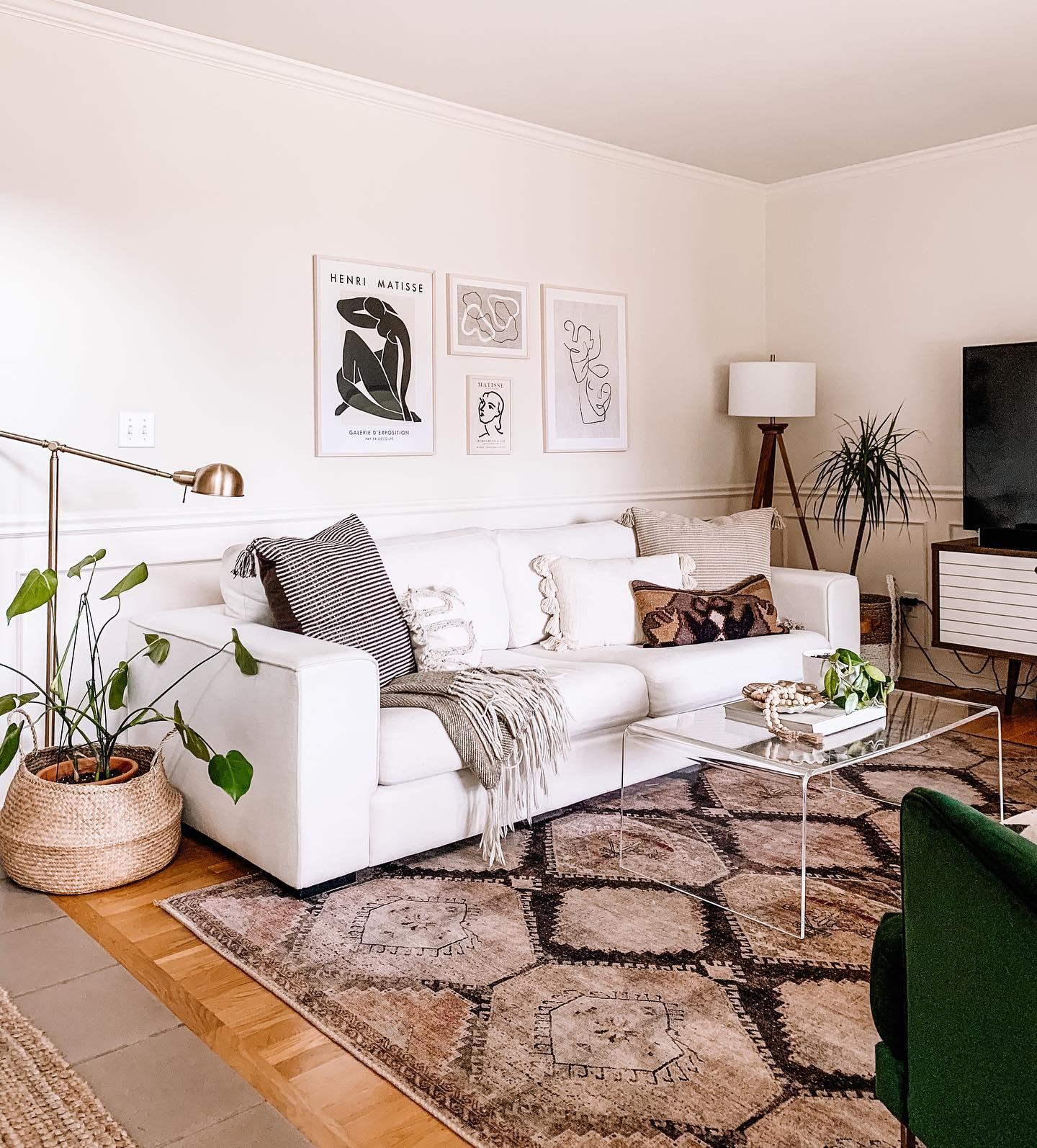 Modern Sensibility - Boho Living Room Decor Ideas