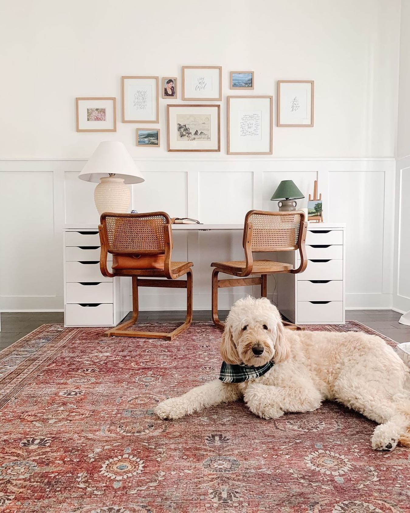 Gallery Wall Office Decor Ideas