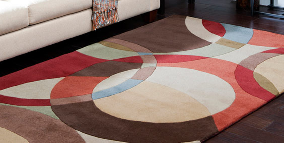 Contemporary Rug Transitional