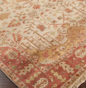 Hand-Knotted Luxury Rug