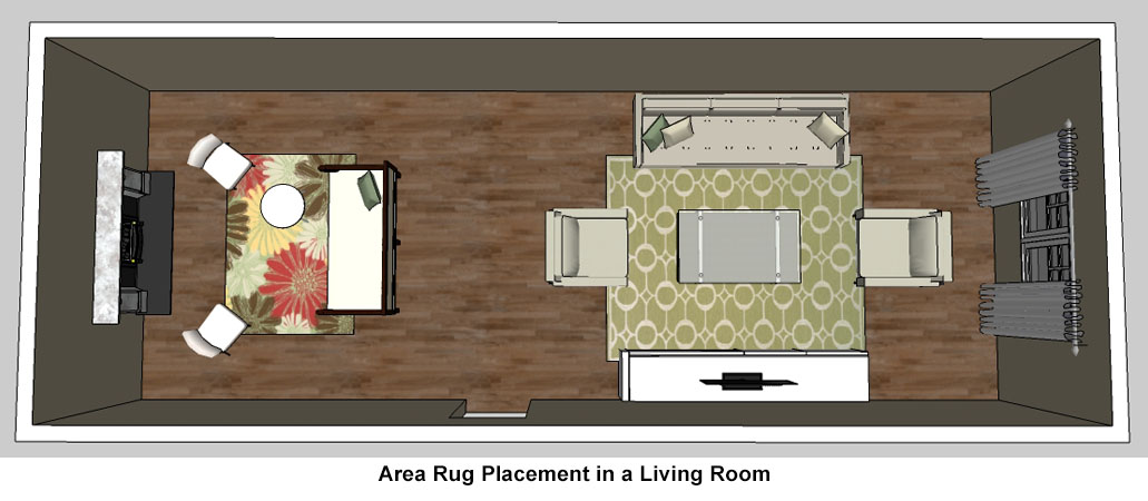 Rug buying guide rugs direct for Living room rug placement