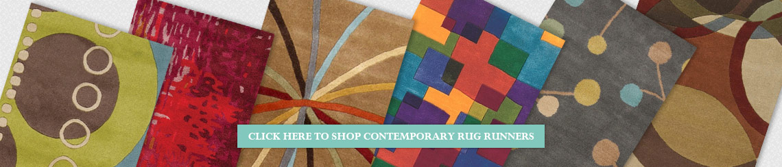 Modern and Contemporary Rug Runners from Rugs Direct